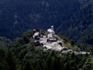 Bourcet, frazione del comune di Roure, Val Chisone