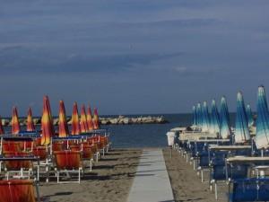 I colori della spiaggia…Gatteo Mare