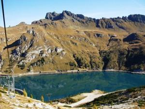 Il lago di Fedaia
