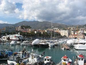 Il porto vecchio di Sanremo