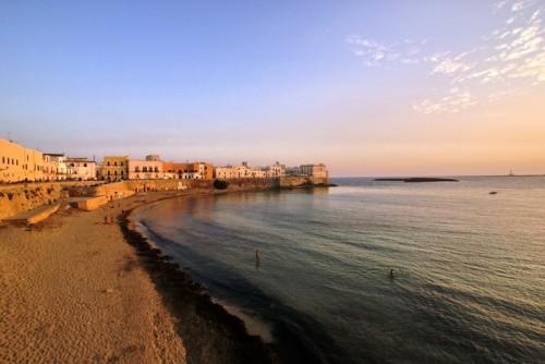 Gallipoli - Tramonto sul Seno di Purità