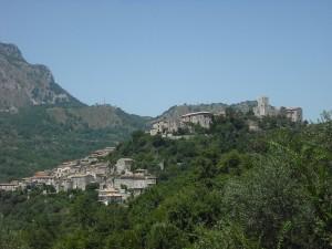 Ausonia ai piedi del Monte Fammera