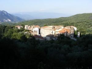 Panorama di Catailli - frazione di Conca della Campania