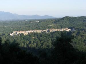 Panorama di Tuorofunaro - frazione di Marzano Appio