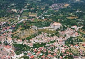 il castello di Montesarchio (Montesarcis…monte fortificato…)