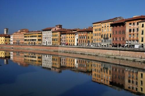 Pisa - Riflessi sull'Arno
