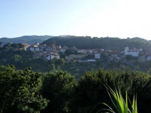 Panorama di Conca della Campania