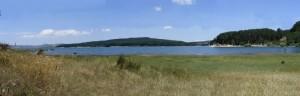 Lago di Cecita dal lato di Cupone