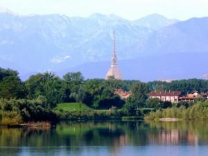 Panorama di Torino visto da San Mauro Torinese