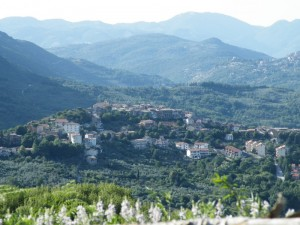 Panoramica di Pisoniano
