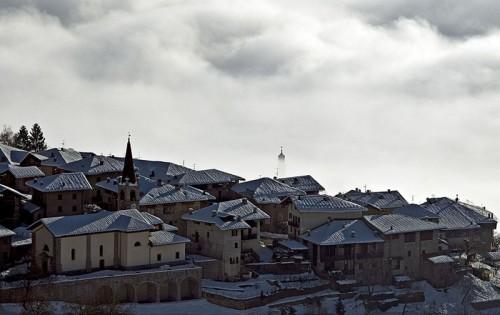 Bleggio Superiore - Bivedo dopo una nevicata