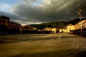 Sulmona piazza Garibaldi
