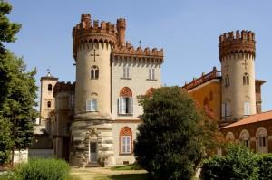 Il castello di Favria.