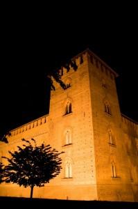 Castello Visconteo by night