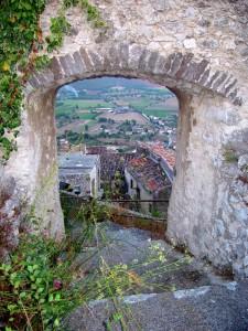 Pietravairano: spiando dal castello