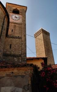 la torre  XIII secolo e il campanile