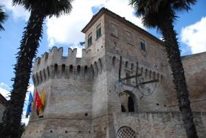 una delle porte del borgo