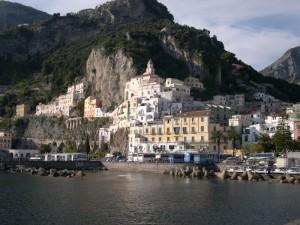 Panoramica di Amalfi