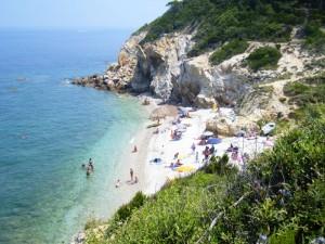 Panorama Spiaggia di Sansone