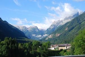 panorama sulla Valle di Gares