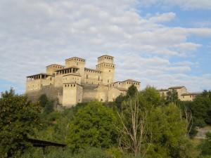 Alba al castello di Torrechiara