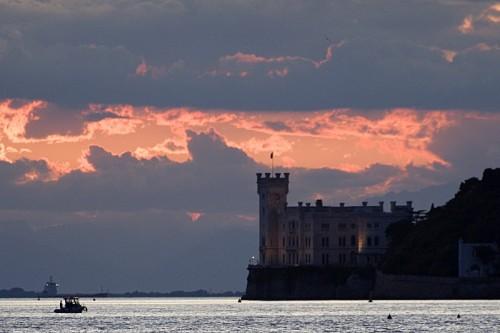 Trieste - Rosso di sera...