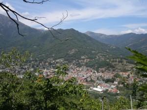 panorama di Luserna, val Pellice
