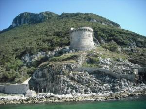 Torre Paola alle pendici del Circeo