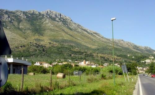 San Pietro Infine - San Pietro Infine:panorama