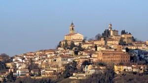 L'ultimo sole su Vignale Monferrato