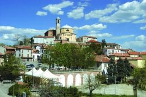Panorama del comune di Montegrosso d'Asti