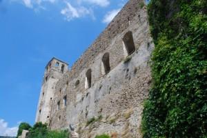 Castello dei Doria (particolare mura di cinta)