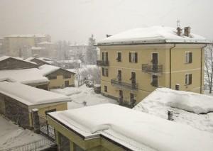 Nevica decisamente!