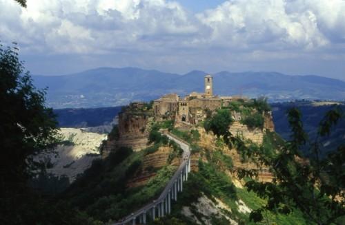 Bagnoregio - Civita -il panorama