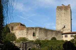 Torre e ruderi del castello visconteo