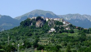 Castel San Vincenzo: panorama