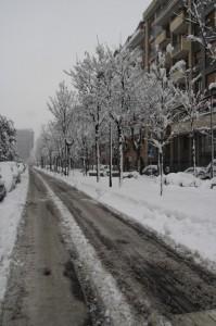 Sesto sotto la neve