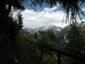 Sentiero panoramico.