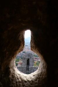 dalla fortezza Castruccio Castracani di Sarzanello