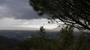 tempesta nella valle del Magra