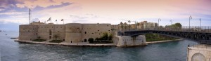Taranto - Maridipart e il ponte girevole