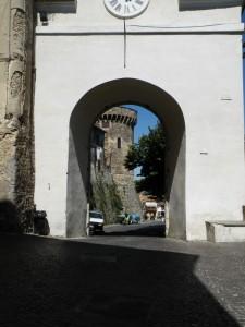 Torre nella porta