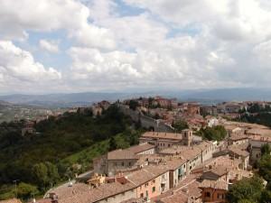 Perugia, vista dall'alto 3