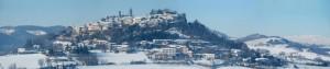 Rosignano Monferrato innevato