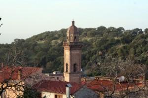 busachi veduta del campanile
