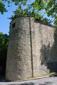 particolare delle mura