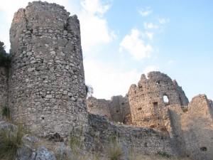 Castello Normanno sul Monte Consolino a Stilo (RC)