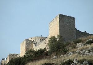 La fortezza di Bominaco.