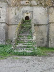 castello del principe - scalinata di accesso