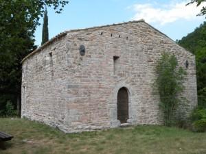 una parte del castello di Varano